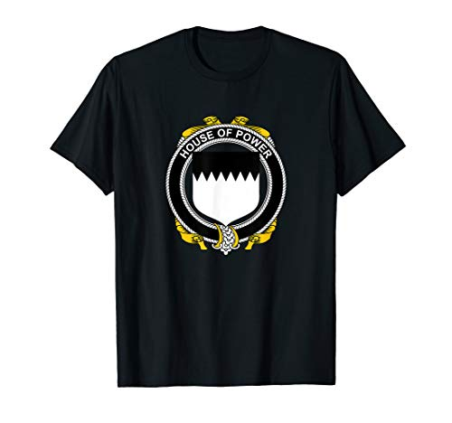 Power Coat of Arms - Family Crest T-Shirt