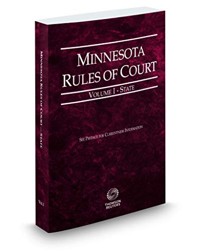 Compare Textbook Prices for Michigan Rules of Court - State, 2019 ed. Vol. I, Michigan Court Rules  ISBN 9781539205210 by Thomson Reuters Editorial Staff