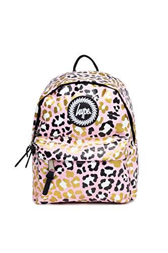 Hype Glitter Leopard Mini Backpack