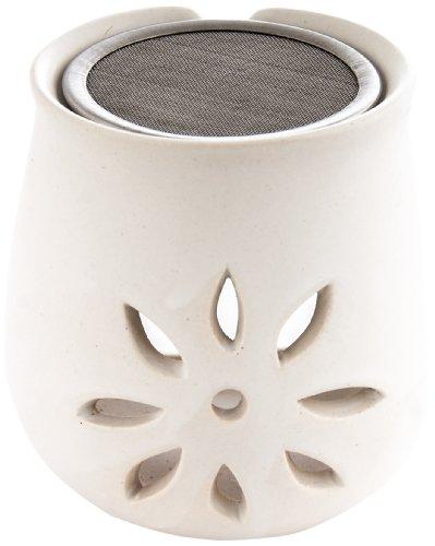 Berk KH-280 Räucher-Zubehör - Räucherstövchen Blume aus Ton mit Sieb