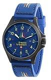 Orologio Militare Da Uomo Delle Frecce Tricolori Modello Sandy Pvd Black Quadrante Blu