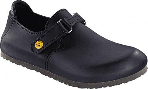 Birkenstock 583160-43-normales Schuh LINZ Antistatik/Naturleder SCHWARZ Gr. 43-normales Fußbett, Größe