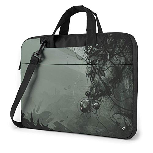XCNGG Laptop Bag, Ball Lines Business BriefcaseBag Cover for Ultrabook, MacBook, Asus, Samsung, Sony, Notebook 15.6 inch
