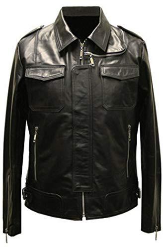 Leatherbox -  Giacca - Giacca - Uomo Nero Large