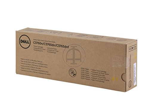 Dell C 3760 n (F8N91 / 593-11120) - original - Toner yellow - 9.000 Pages
