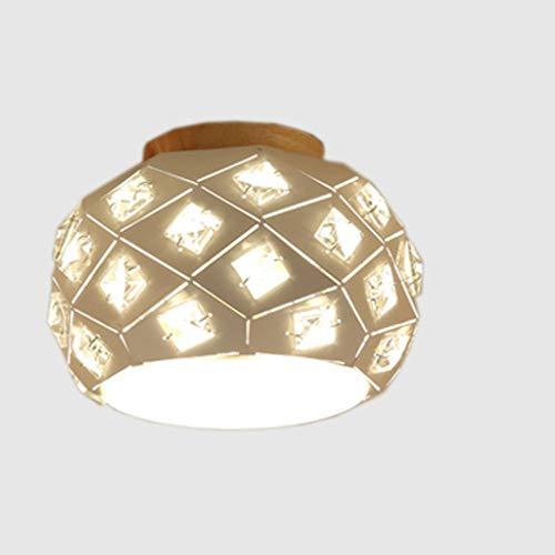 BAIJJ hanglamp persoonlijkheid retro hanglamp wind industrieel ijzer plafondlamp slaapkamer werkkamer woonkamer badkamer keuken plafondlamp glas (15 x 20 cm)
