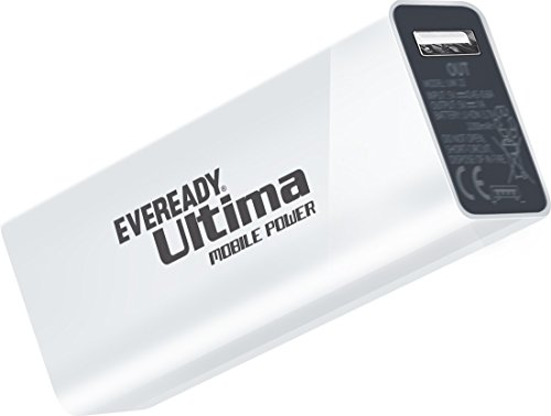 Eveready Ultima 2600 mAH Power Bank (White) - UM 26