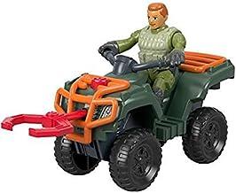 Jurassic World Park Worker & ATV Imaginext Figure