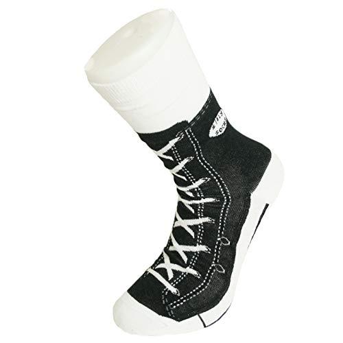 Preis am Stiel Schwarze Sneaker Socken | lustige Geschenkidee für Freunde | Soxs | Damensocken | Freizeitsocken | Strümpfe | Bekleidung