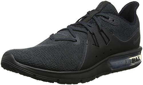 Nike Men's Air Max Sequent 3 Running Shoe Black/Anthracite Size 7 M US