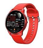 Smartwatch, LW29 Smartwatch mit Herzfrequenz-/Blutdruckmessung, Fitness-Tracker, vollfarbige Touch-Fitnessuhr für Android & iOS für Männer & Frauen