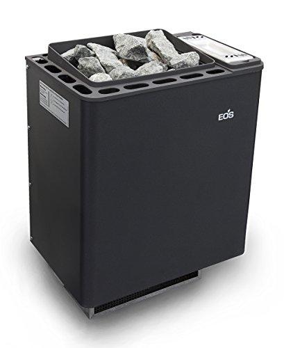 Eos Bi-O Mat Saunaofen 7,5 kW mit Verdampfer Made in Germany inkl. Steuerung 45H2, Steine