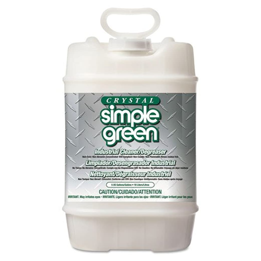 気楽な脱臼するドラマシンプルグリーン多目的工業用クリーナー/脱脂剤 5ガロン バケツ1個
