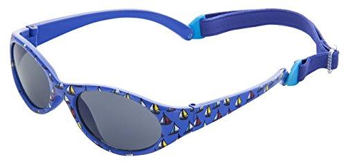 Kiddus Kiddus Sonnenbrille Kids Comfort Junge und Mädchen. Alter 2 bis 6 Jahre. Total Flexible Modell für Extra Komfort. Mit Band und sehr Resistent. 100% UV-Schutz. Nützliches Geschenk (KI30403)