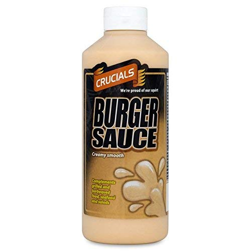 Crucials Salsa Di Hamburger 500Ml