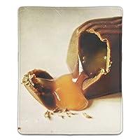 マウスパッド 防塵 耐久性 滑り止め 耐用 ゴム製裏面 軽量 携帯便利 ノートパソコン オフィス用 ゲーム用 (180*220*3mm) チョコレート菓子詰め物甘いその他