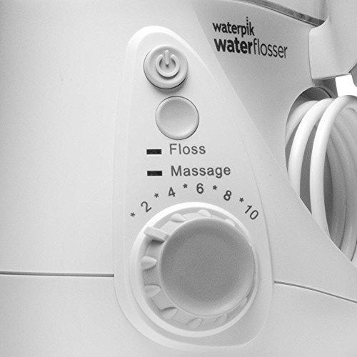 Waterpik WP-660EU - Irrigador dental, 100-240V, depósito de agua de 650 ml, Blanco