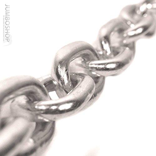 Seilwerk STANKE 10m 2mm Rundstahlkette kurzgliedrig verzinkt Stahlkette -- DIN Eisenkette Stahl Eisen Kette abgerundet