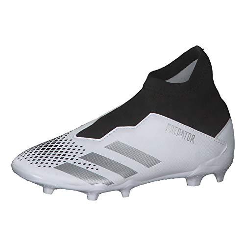 adidas Predator 20.3 LL FG J, Zapatillas de fútbol, FTWBLA/Plamet/NEGBÁS, 36 EU ⭐