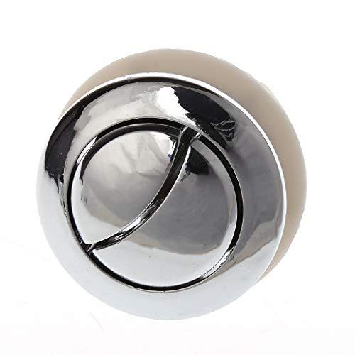 Botón de doble pulsador Closestool para tanque de inodoro con botón de descarga de cisterna de repuesto de pieza de reparación de accesorios de baño