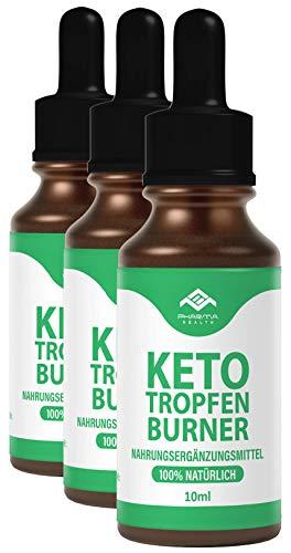 Keto Tropfen Burner | Ketogen Drops | Schnell & Extrem & Leicht nutzten (Lipo) | 10 ml (3)