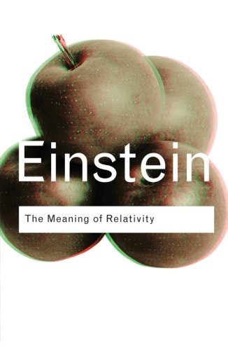 The Meaning of Relativity (Routledge Classics)の詳細を見る
