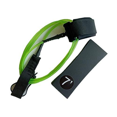 Accesorios de tabla de surf 7 pies 7 mm de grueso cinturón Surf Tabla de Surf de tracción de cuerda de tracción cuerda vertical Paddle Surf cable de tracción de cuerda Accesorios Para tablas de surf