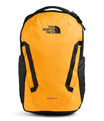 The North Face Vault Backpack, Summit Gold/TNF Black, One Size