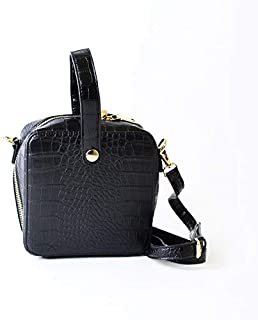 Lenz Crossbody Bag For Women - Black, AM19-B010