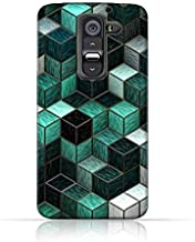 LG G2 TPU Silicone Case with cubes Design.