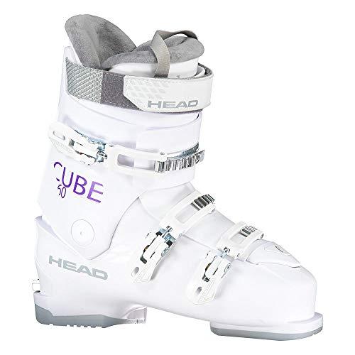 HEAD Damen Cube 3 60 Skischuhe, White, 270