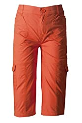 Sera Boys Orange Cotton Cargo Jamaican