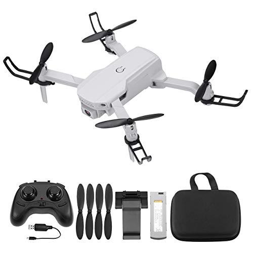 Powerextra Mini Drone para Niños con Cámara - RC Quadcopter 2.4GHz Control Remoto sin Cabeza Profesional Drone WiFi App para iOS Android Flips 3D y Función de Giro de Alta Velocidad - 2 x Baterías