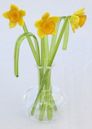 Gorgeous in vetro con narciso
