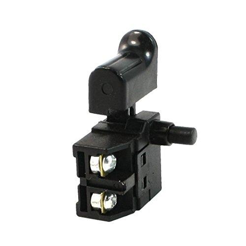 SOURCING MAP sourcingmap Interruptor Herramienta eléctrica Manual con gatillo de bloqueo 6A 250 VAC.