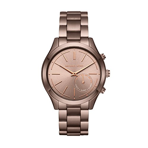 Michael Kors Damen Analog Quarz Uhr mit Edelstahl Armband MKT4019