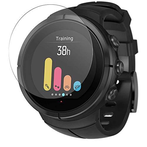 Vaxson Vetro Temperato Pellicola Protettiva, compatibile con Suunto Spartan Ultra Hybrid Watch, 9H Screen Protector Pacco da 3