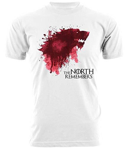 Tshirt Game of Thrones The North Remembers - Il Trono di Spade - Serie TV - Idea Regalo