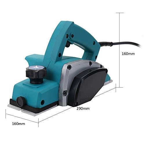 QWERTOUY multifunctionele elektrische schaaf, krachtige houten hand, carpenter houtverwerking, film-tool, hometrainer, doe-het-zelf gereedschapskit