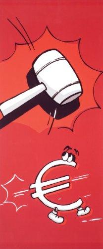 Unbekannt Textilposter - Banner Preishammer Poster aus Stoff ca 75 x 180 cm Ladendeko