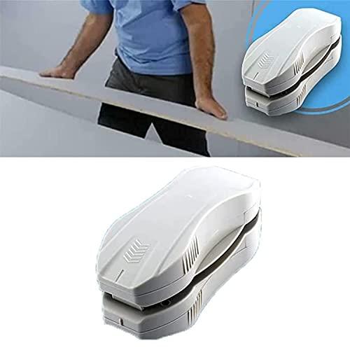 Cortador de paneles de yeso,cortador manual portátil de paneles de yeso,herramientas de corte de artefactos de paneles de yeso,fuerte adsorción magnética,recorta de forma estable curvas,formas, etc