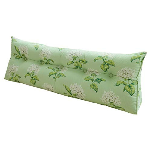 Kopfbrett Keilkopfnacht Polster Stoff Art Triangular Pillow Multifunktions Große Rückenpolster, waschbar, 7 Farben, 7 Größen (Farbe: 7 #, Größe: 70 x 20 x 50 cm), Abmessungen: 135 x 20 x 50 cm, Farbe: