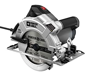Porter-Cable PC15CSLK 7-1/4-Inch Circular-Saw with Laser-Guide by Porter-Cable