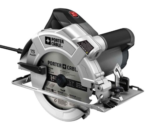 PORTER-CABLE PC15CSLK 7-1/4-Inch Circular-Saw with Laser-Guide