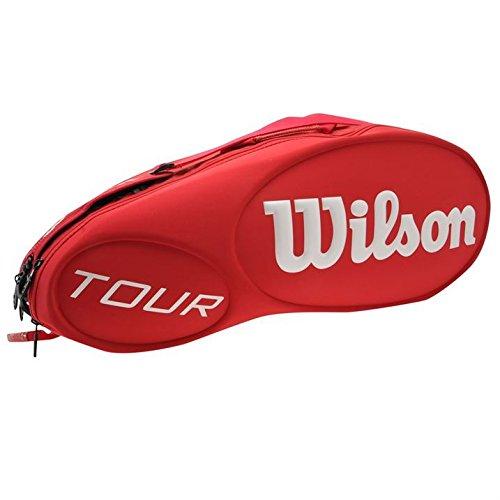 Wilson Unisex Hombre Mujer Damas Racquet Raqueta Tour Molde 6Pk Bolsa De Almacenamiento