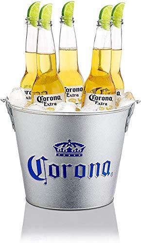 Corona Extra, secchio per birra zincato