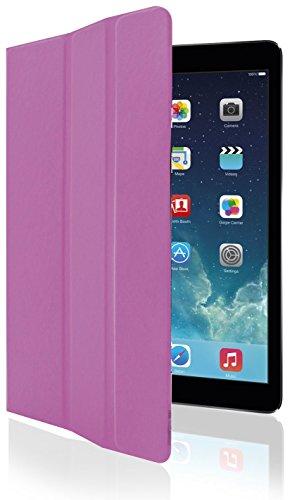 Phonix boek beschermhoes voor Apple iPad Air 2 roze/rood