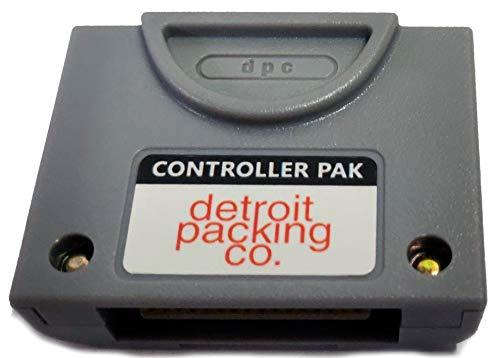 DPC N64 256KB Controller Pak Memory Pack Transfer Card for Nintendo 64 (Third Party)