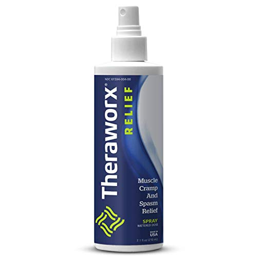 Theraworx Relief Fast-acting Spray for Leg Cramps Foot Cramps and Muscle Soreness