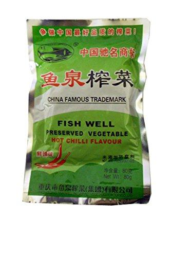FISH WELL Conservas de verduras en caliente, 80 g